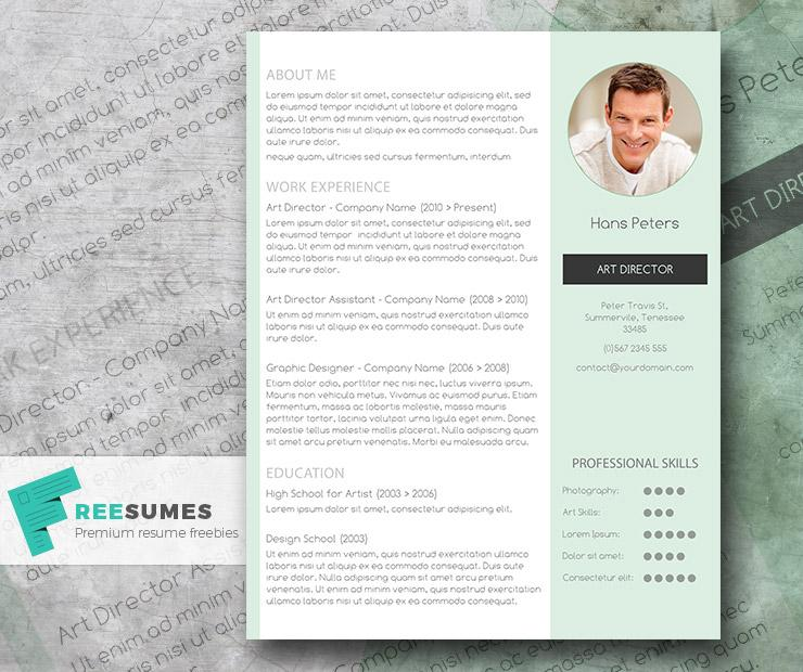 freebie streamlined word resume mr mint