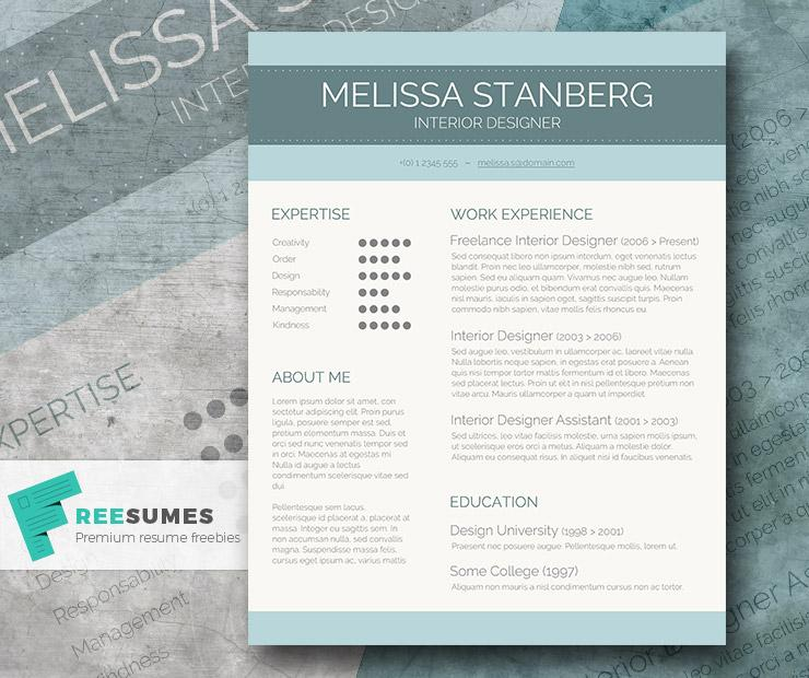 Resume For Graduate Student Word  Free Resume Templates  Psd  Word   Utemplates Personal Assistant Resume Excel with Paralegal Job Description For Resume Stylish Cv Template Freebie The Modernday Candidate Post Resume On Indeed Word