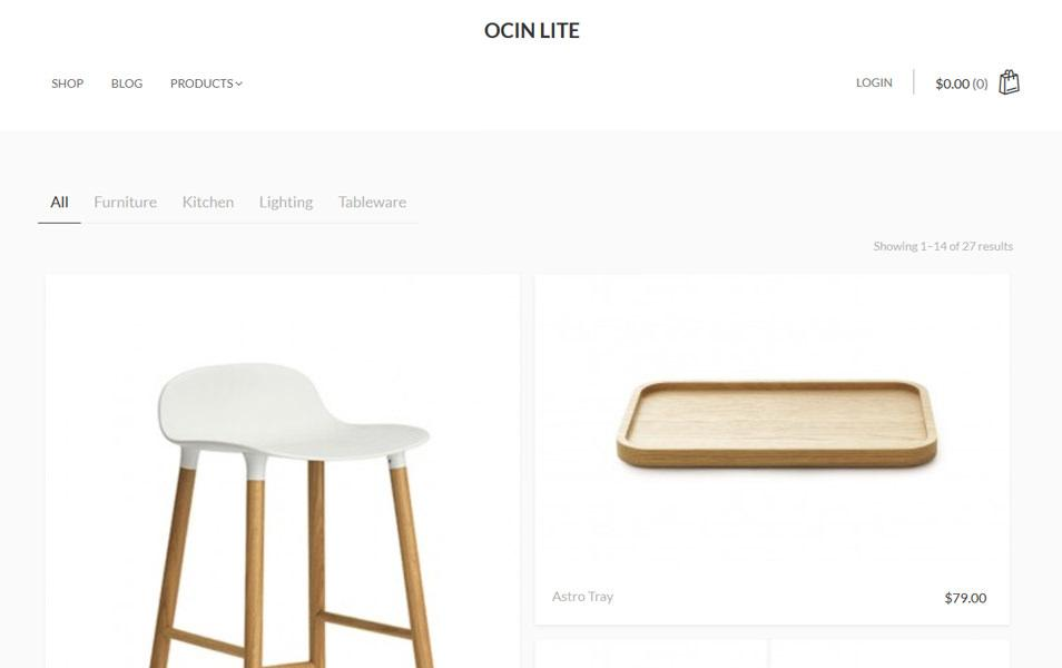 ocin_lite_ecommerce_wordpress_theme