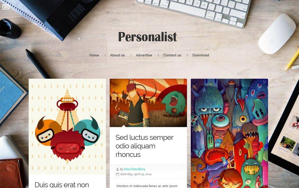 personalist_responsive_blogger_template