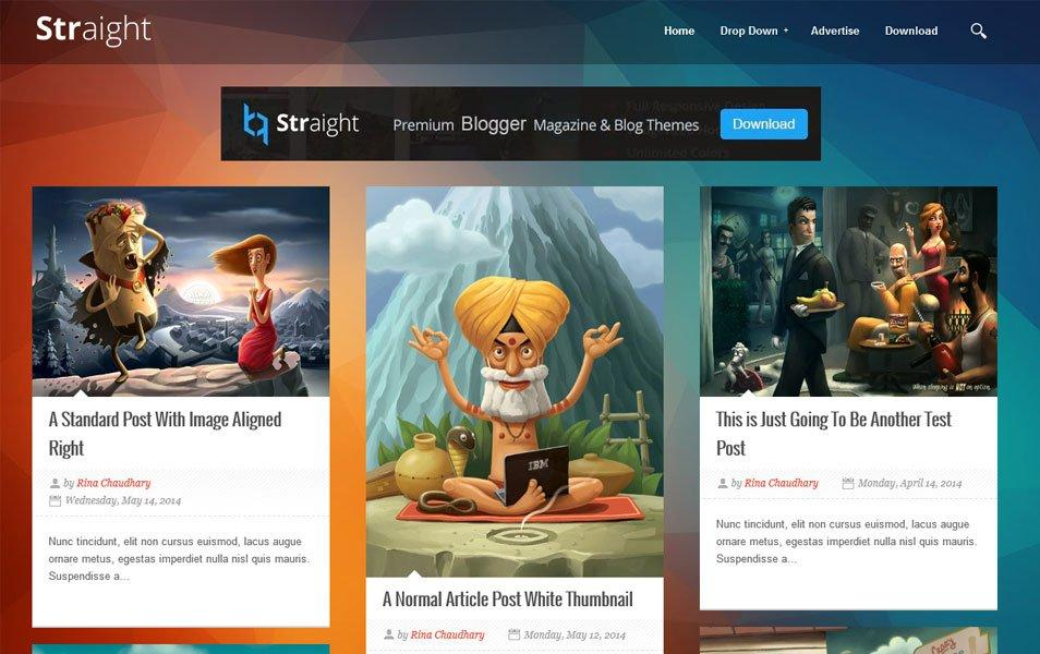 straight_responsive_blogger_template