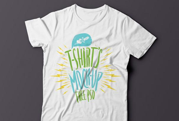 summer_psd_tshirt_template