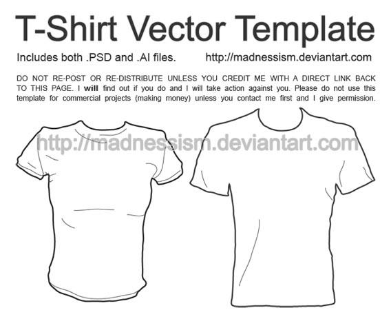 tshirt_vector_template