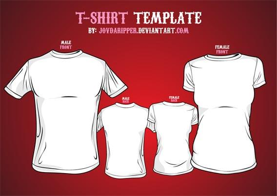 vector_tshirt_template