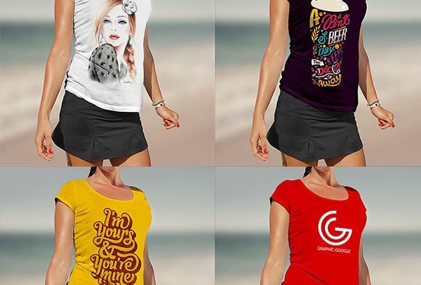 women_tshirt_mockup_psd