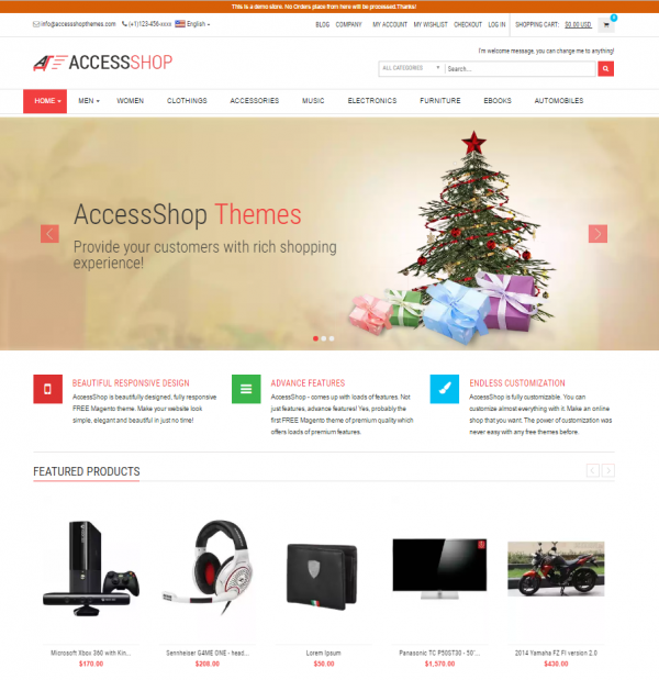 AccessShop Lite Theme