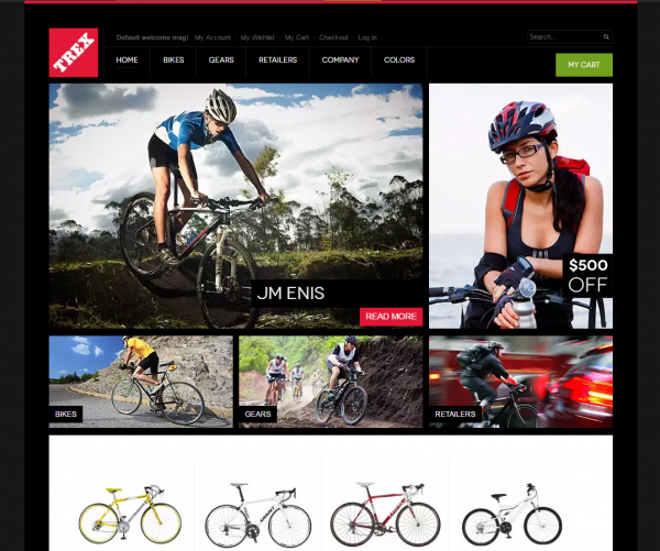 Trex Magento Theme for Sports Shop