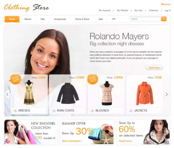 Free Clothing Store
