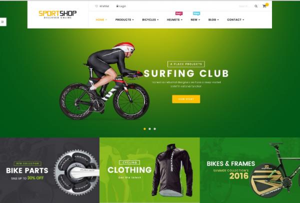 Ves Sportshop Magento Bootstrap Theme