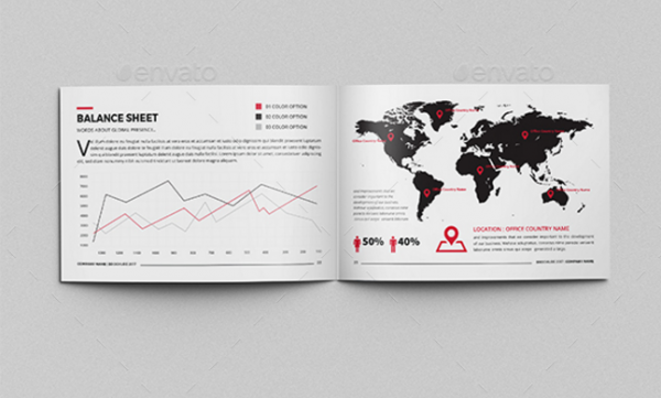 Creative Annual Report Brochure