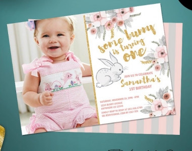 150 free printable birthday invitation card templates utemplates cute first birthday party invitation filmwisefo