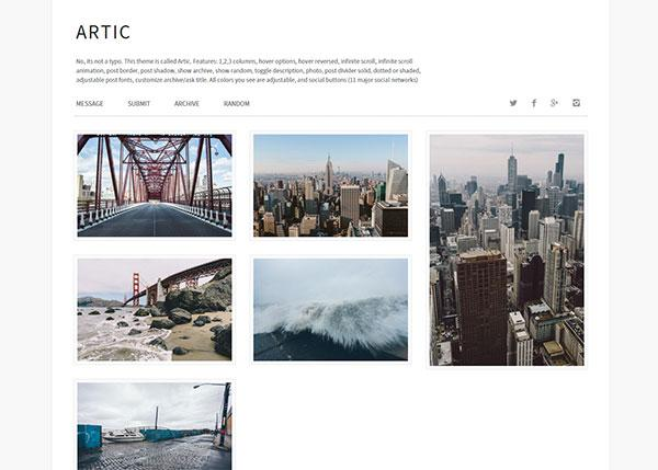 artic_simple_tumblr_theme