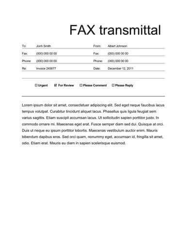business_fax_sheet_cover