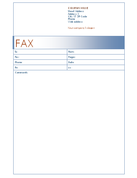 50 free fax cover sheet templates word pdf utemplates blue fax cover sheet bluefaxcoversheet spiritdancerdesigns Gallery