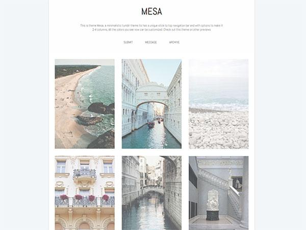 mesa_simple_tumblr_theme
