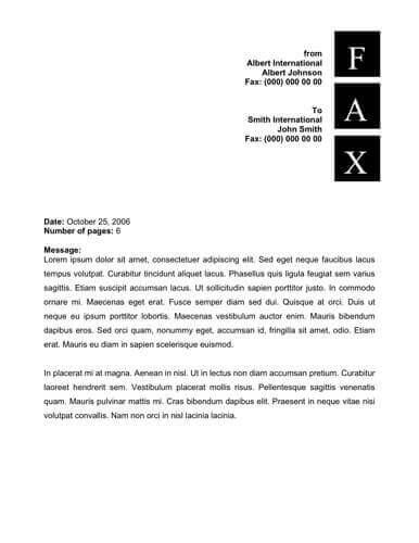50  free fax cover sheet templates   word    pdf