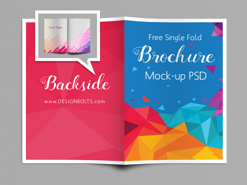Awesome Free Brochure Templates Mockups UTemplates - Single fold brochure template