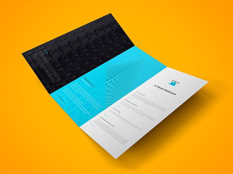 z_fold_brochure_psd_mockup