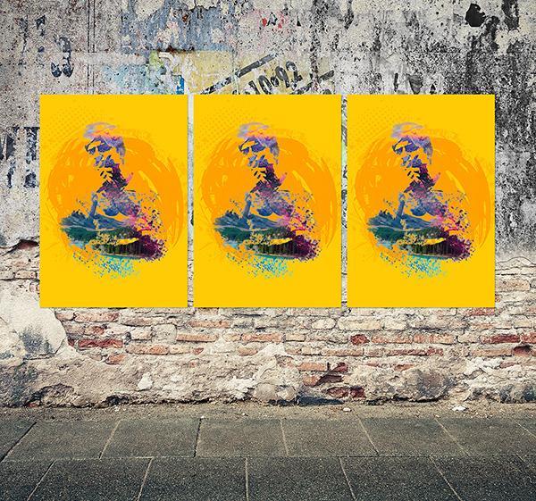 grunge_poster_mockup