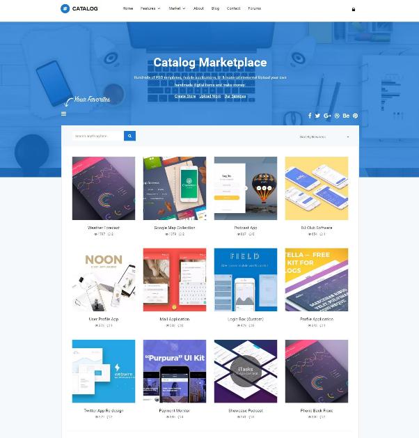 10+ Best Wordpress Catalog Themes | UTemplates