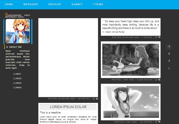 15  free anime tumblr themes