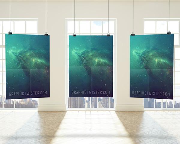 premium_triple_poster_frame