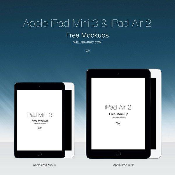 apple_ipad_mini_3_and_ipad_air_2 screen_mockup_psd