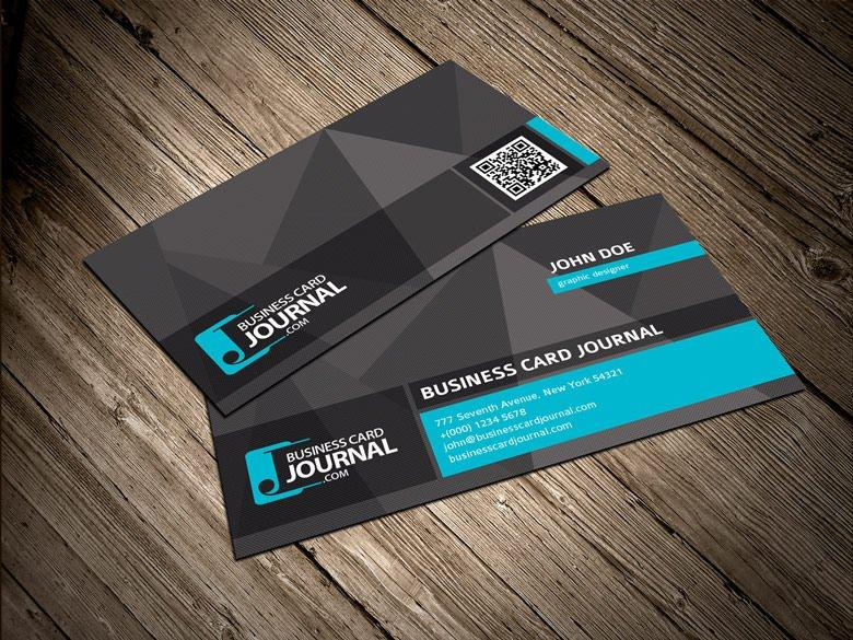 Download 60 free business card templates utemplates cooluniquebusinesscardtemplatewithqrcode cool unique business card template with qr code reheart