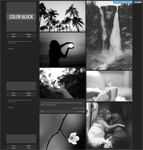 20 Elegant Free Dark Tumblr Themes Utemplates