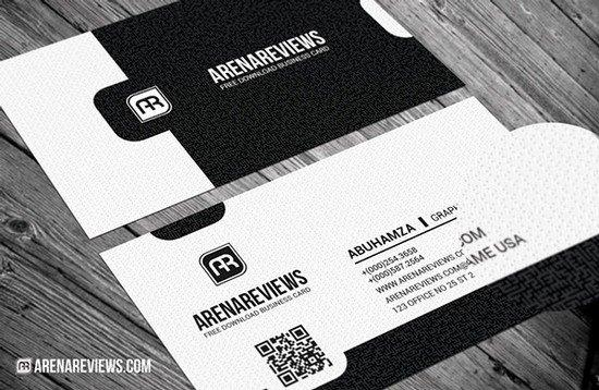 exquisite_black_white_business_card