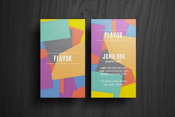 flavor_business_card_free_download