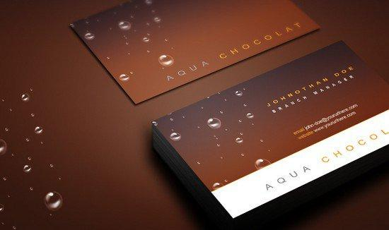 free_chocolate_business_card_psd