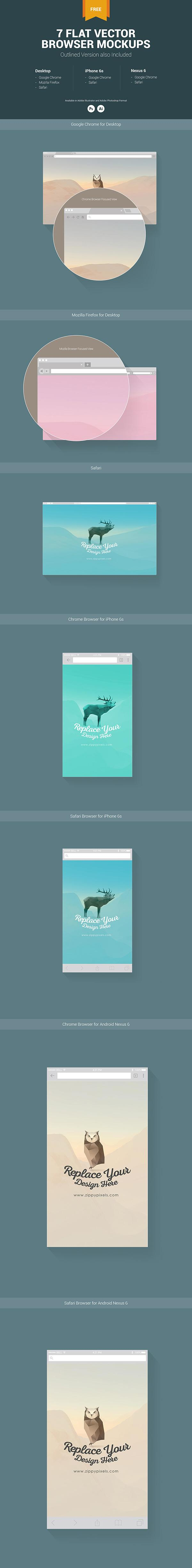 7_free_web_mobile_browser_mockups