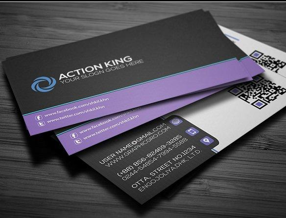 Download 60+ Free Business Card Templates | UTemplates