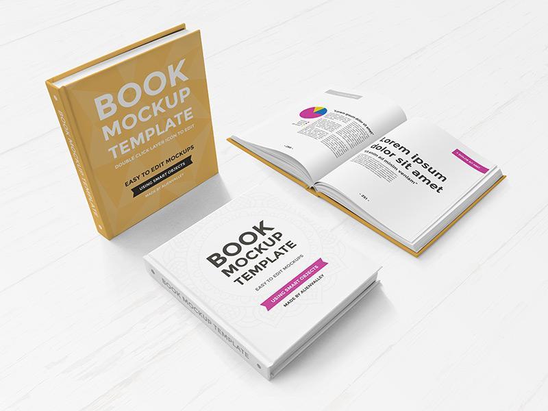 hardcoverbook_mockup_set