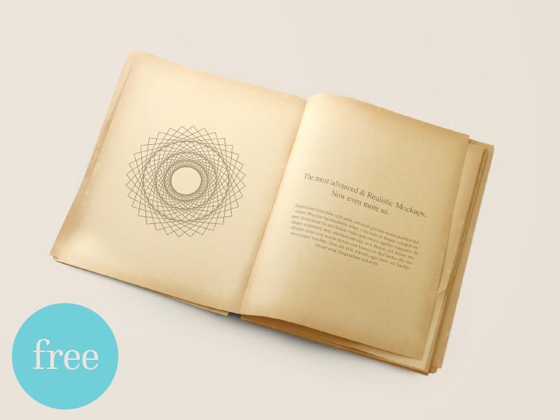 old_book_mockup