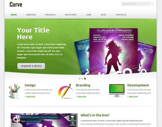 curve_responsive_web_template