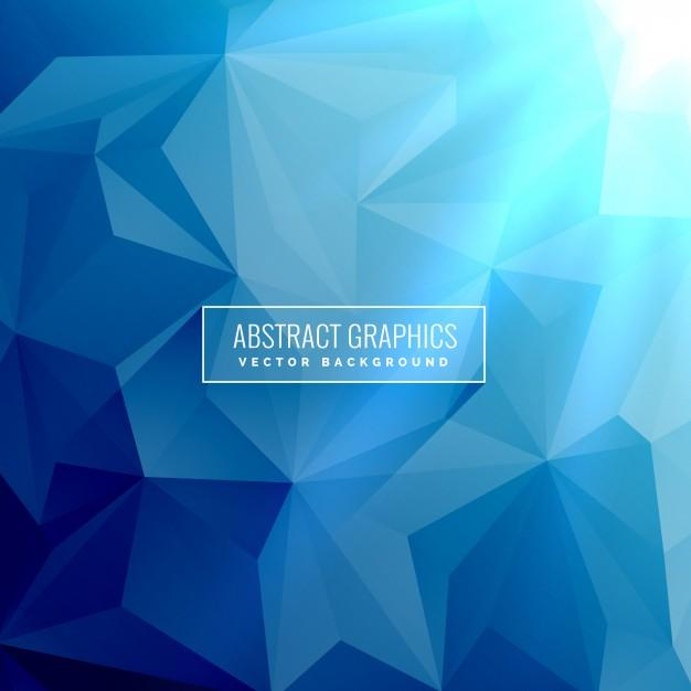 abstract_blue_background_with_low_poly_triangle_shapes