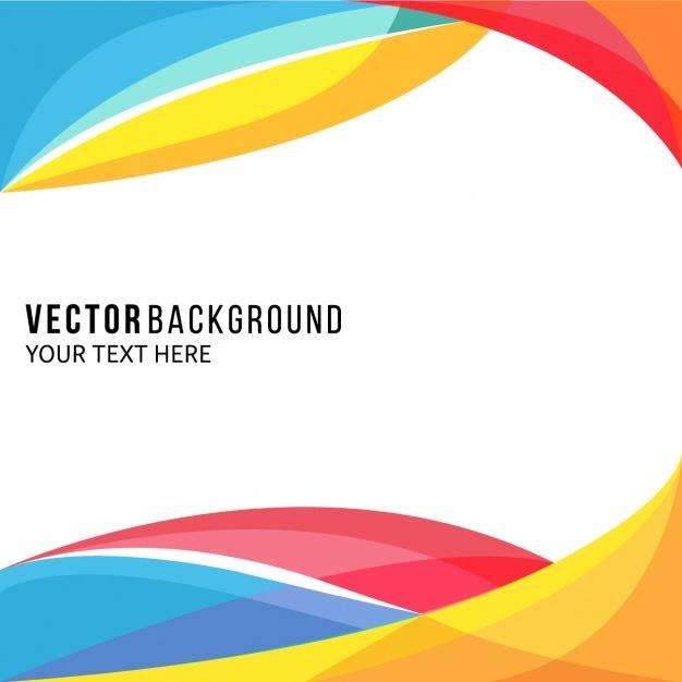 amazing_full_color_background_with_wavy_shapes