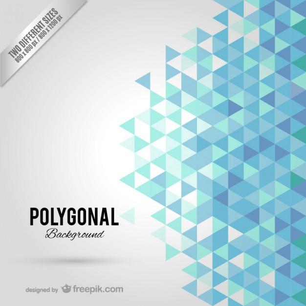 blue_polygonal_background
