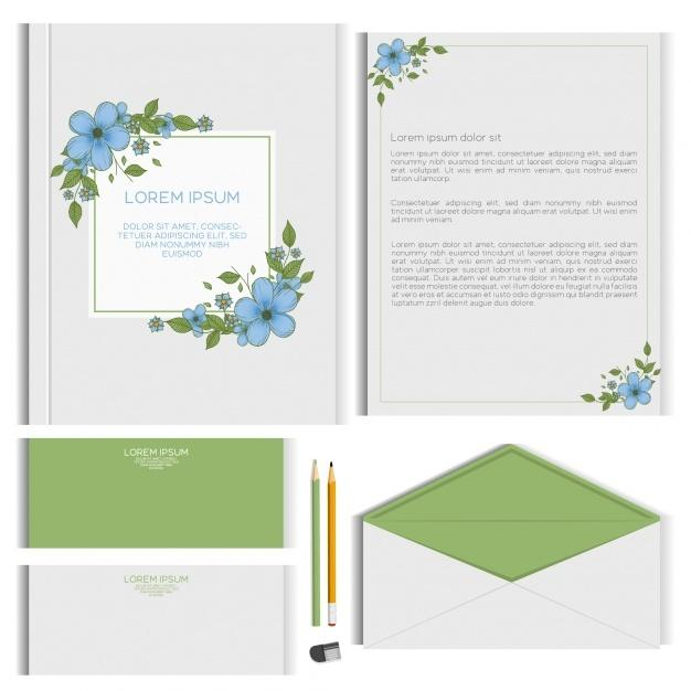 floral_stationery_design