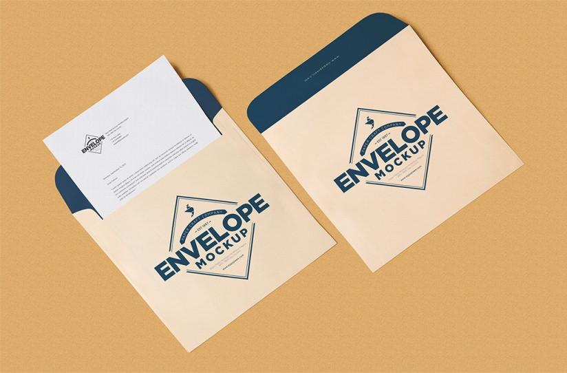 unique_squared_shaped_envelope_psd_mockup_letterhead_mockup