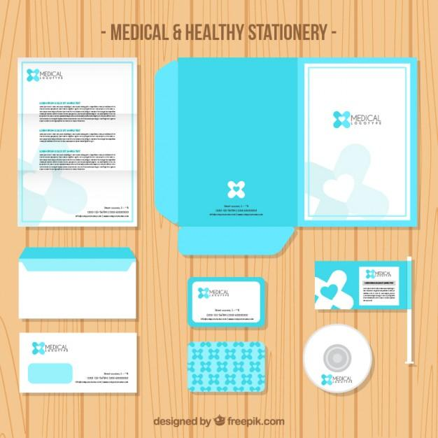 medical_light_blue_stationery