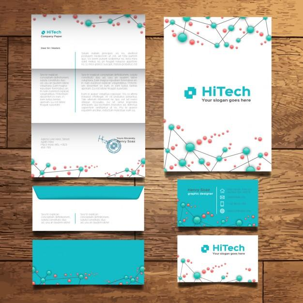 modern_tech_stationery_design
