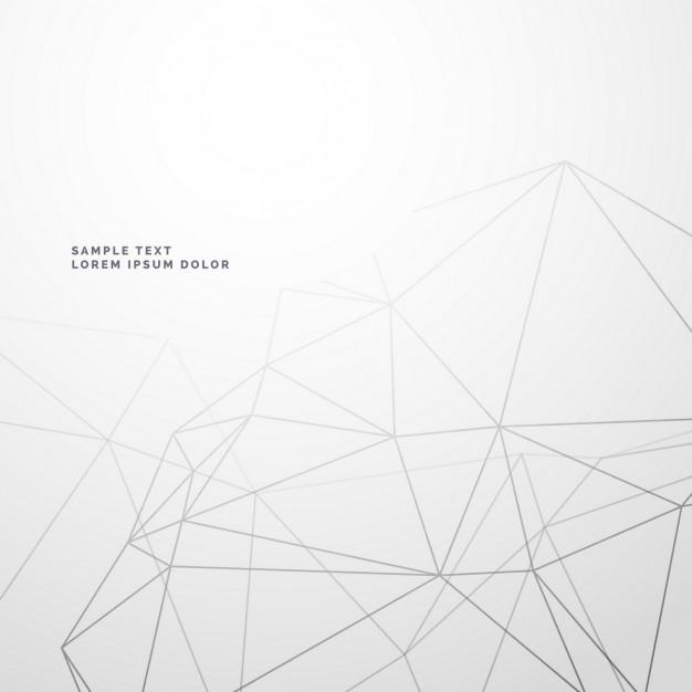 polygonal_lines_on_a_white_background