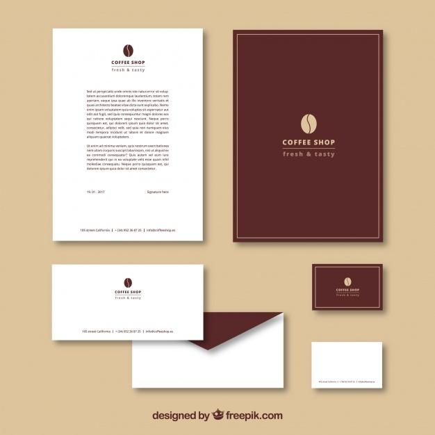 simple_stationery_for_coffee_shop
