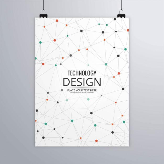 technology_brochure_with_dots_and_lines