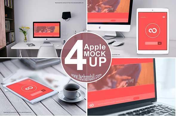 apple_family_mockup_psd
