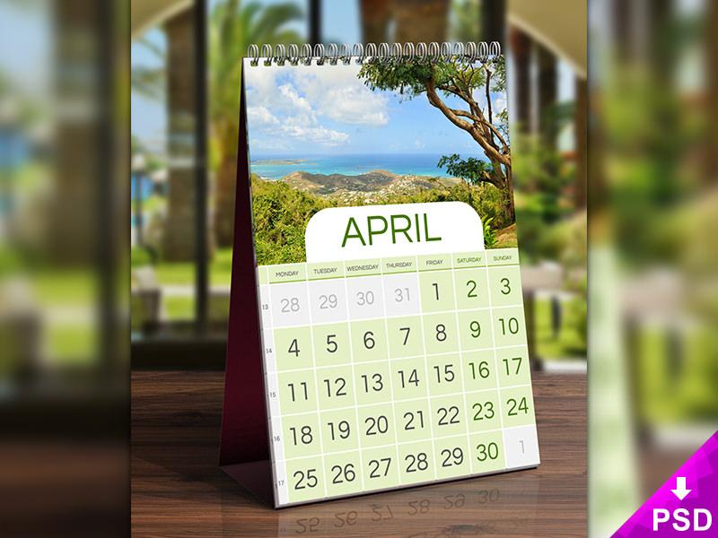 photorealistic_calendar_mockup_psd_on_wooden_table