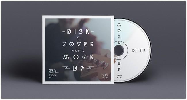 20+ CD / DVD Cover Mockups [PSD Templates] | UTemplates